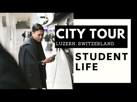 VLOG | Culinary Arts Academy - City Tour In Lucerne Switzerland
