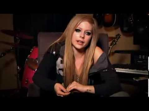 Avril Lavigne - Making Of Goodbye Lullaby Part 2