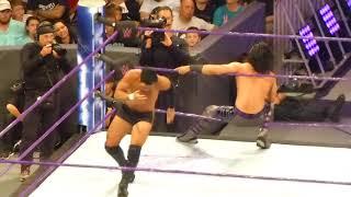 Nonton Mustafa Ali vs Hideo Itami at WWE 205 Live Film Subtitle Indonesia Streaming Movie Download
