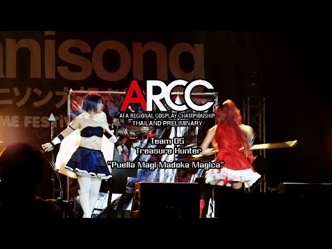 ARCC Thailand Preliminary Cosplay Contest 2015 Team 5 Treasure Hunter – Puella Magi Madoka Magica