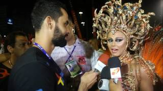 Carnaval 2017  Viviane Araújo - Rainha de bateria do Salgue...
