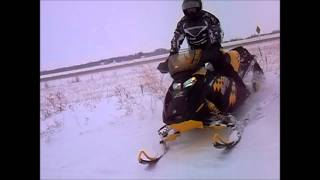 6. Arctic Cat F6 LXR and Ski-Doo MXZ 600