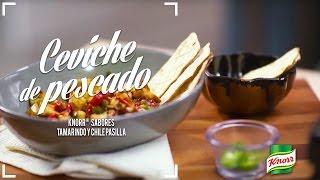 Ceviche de Pescado Knorr® Sabores Tamarindo y Chile Pasilla
