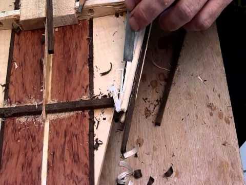 Wood Surfboard- Making Hollow Rails