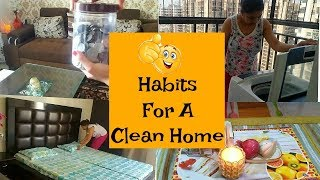 10 Everyday Habits to Keep Your House Clean and Organized In Hindi | Indian Mom Studio
