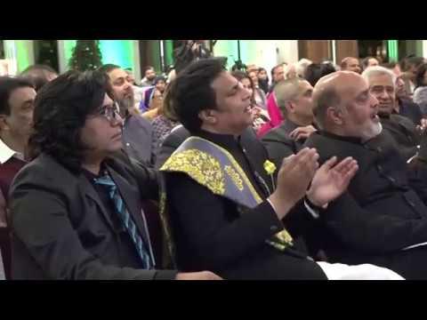 AHMED SALMAN  AT MILAAP GRAND INTERNATIONAL MUSHAIRA .
