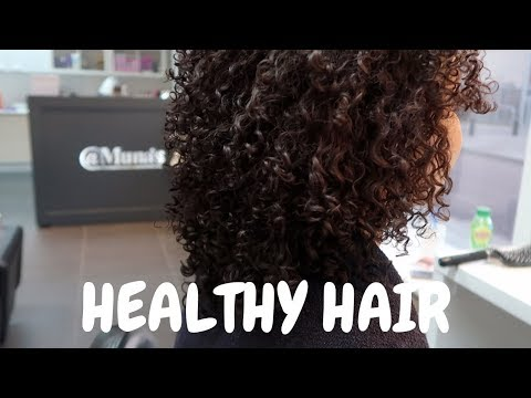 CURLY HAIR ROUTINE AT MY HAIRDRESSER  Chayennalatoya