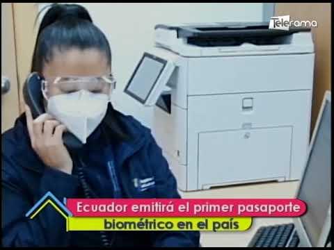 Ecuador emitirá el primer pasaporte biométrico en el país