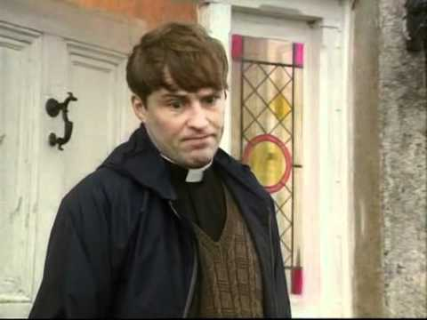 Father Ted, fixing a dent