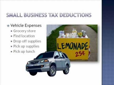 Small Business Tax Deductions Entrepreneur – Tax Training Series