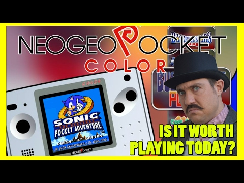 Neo Geo Pocket Color - System Review & History - Is It Worth Playing Today? - Top Hat Gaming Man