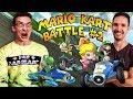 Mario Kart: SPECIAL EDITION BATTLE #2 with J, Ben, DK and Kallie!