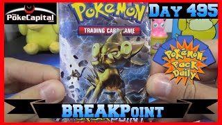 Pokemon Pack Daily XY BREAKpoint Booster Opening Day 495   Featuring ThePokeCapital by ThePokeCapital