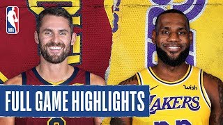 CAVALIERS at LAKERS   FULL GAME HIGHLIGHTS   January 13, 2020