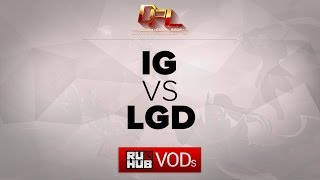 LGD.cn vs IG, game 1