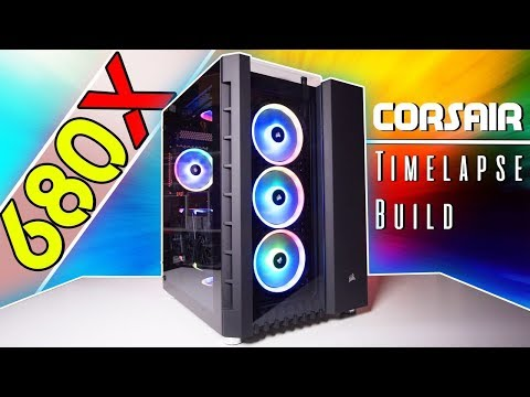 The ULTIMATE Corsair Crystal 680X RGB Timelapse Build!