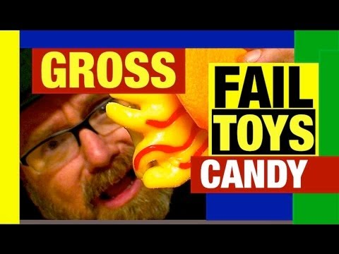 Grossest Halloween Candy for 2011 Funny Fail Toys by Mike Mozart JeepersMedia