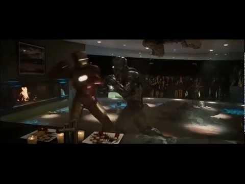 Iron Man Vs. War Machine - español latino (Iron man 2)