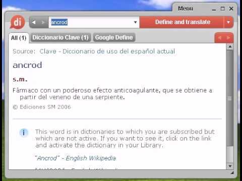 Definición de ancrod