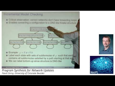 Pavol Cerny - Program Synthesis for Network Updates