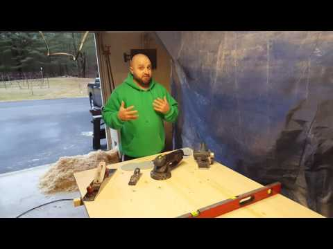 Flattening a Table Top