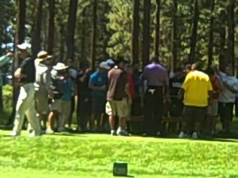 Michael Jordan Bets & Collects During A Round Of Golf