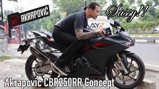 Video CBR250RR With Akrapovic Full System (Concept Design!) MP3, 3GP, MP4, WEBM, AVI, FLV Juni 2017