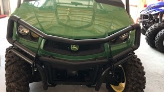 9. John Deere XUV 560 Oil Drain Location and Filter Change