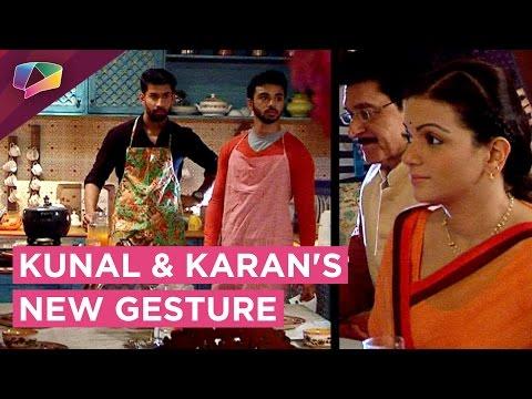 Kunal and Karan CONSOLE Sharda | Ek Shringaar Swab