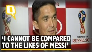 Video Cannot be Compared to the Likes of Lionel Messi: Sunil Chhetri | The Quint MP3, 3GP, MP4, WEBM, AVI, FLV Oktober 2018