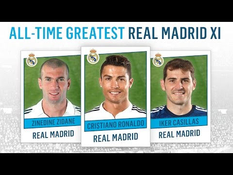 Video: All-Time Greatest Real Madrid XI | Ronaldo, Zidane, Casillas!