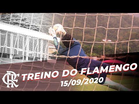 Treino do Flamengo - 15/09/2020