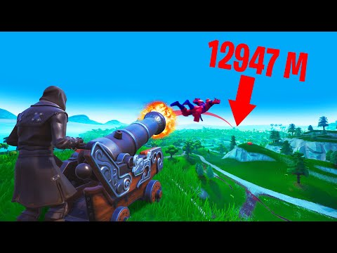 How FAR Can You FLY FROM A CANNON?! (Fortnite Season 8) - Thời lượng: 10 phút.