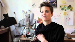 Having begun her career as a goldsmith, Saskia Diez had a brief affair with industrial design, working for some time with Konstantin Grcic before returning to her first love, jewellery-making. The Munich-based designer now fuses both backgrounds to create elegant and restrained pieces. Crane.tv spends time with Diez in her studio in Munich to see her at work, hear about her various inspirations and why she loves design so much. www.saskia-diez.com