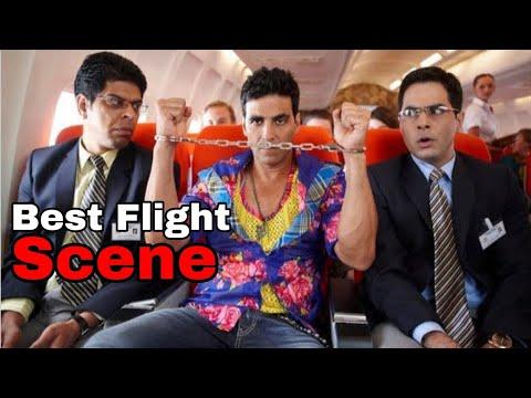 Tees Maar Khan Flight Comedy Scene | Akshay Kumar | T Creations Official | #AkshayKumarComedyScenes