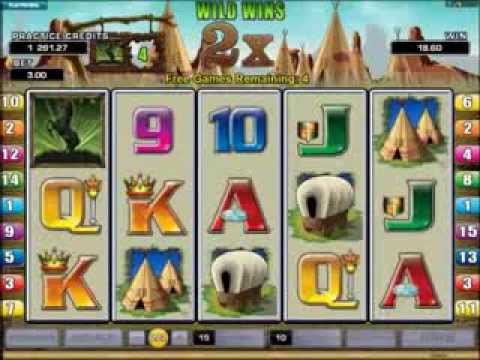 Western Frontier Slots 16 Free Spins and Gamble Wins
