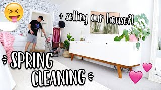 SPRING CLEANING + SELLING OUR HOUSE!? by Aspyn + Parker