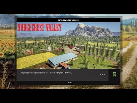 Norge Crest Valley 17 V1.6 ChoppedStraw & animated drinkers