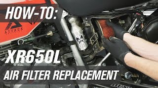 5. How To Replace The Air Filter On A Honda XR650L