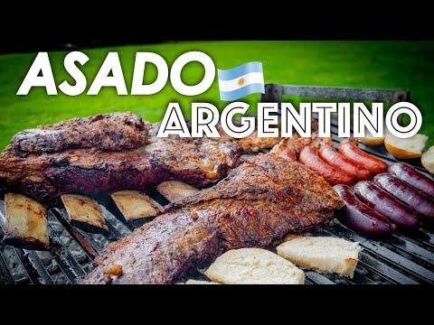 Asado tradicional Argentino