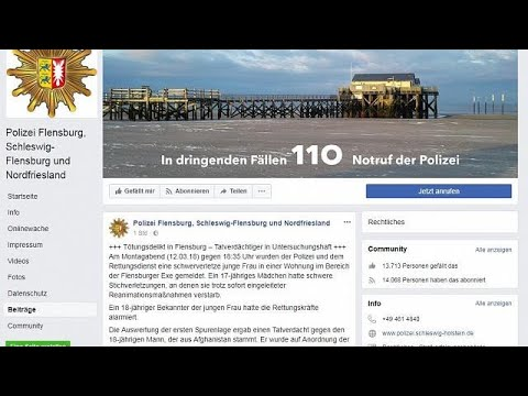 Flensburg: 17-Jährige erstochen, Afghane unter Tatver ...
