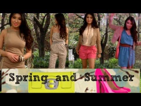 Look Book #2: Spring/Summer Trends & Haul