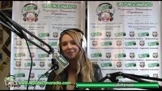 con Juliana Henao - Talento Nacional, Talento URepublicanaRadio