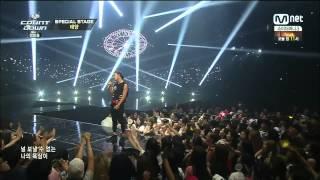 140717 Taeyang - Eyes, Nose, Lips @ M! Countdown.