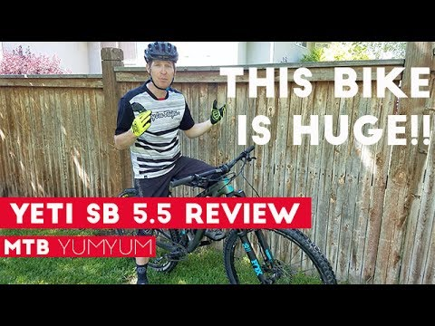 2017 Yeti SB5.5 Test Ride & Review