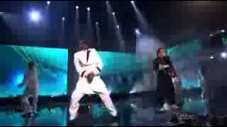 PSY And MC Hammer Gangnam Style at the 2012 American Music Awards
