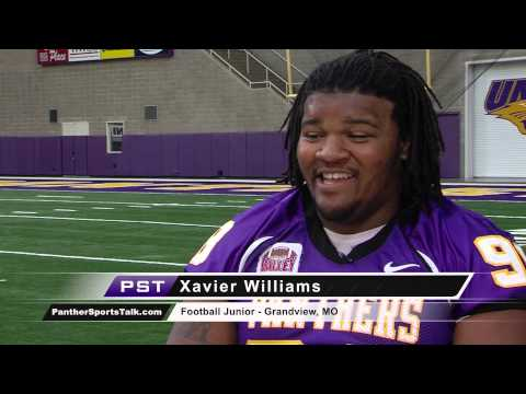 Xavier Williams Interview 10/14/2013 video.
