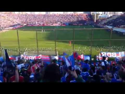 Video - El Bulla va caminando para Pedrero / U de Chile vs U de Concepción / 2014 - Los de Abajo - Universidad de Chile - La U - Chile