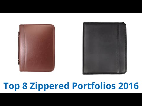 8 Best Zippered Portfolios 2016