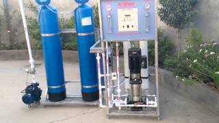 Industrial RO 500 LPH fully Automatic - YouTube